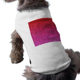 Falln Valentine Glitter Gradient Dog Tee Shirt