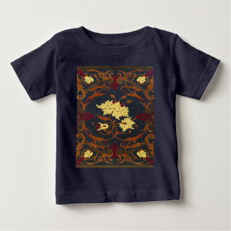 Falln Victorian Vines Book Baby T-Shirt