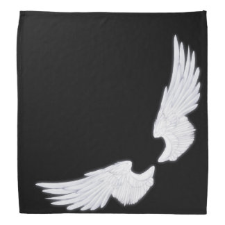 Falln White Angel Wings Bandana