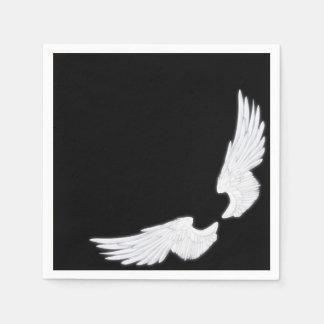 Falln White Angel Wings Disposable Napkin
