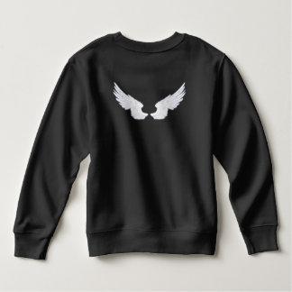 Falln White Angel Wings Sweatshirt