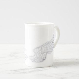 Falln White Angel Wings Tea Cup