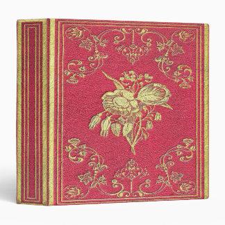 Falln Wine and Roses Book Vinyl Binder