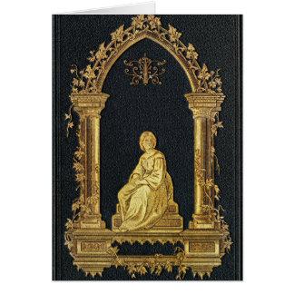 Falln Woman in Gold Book Cover Card