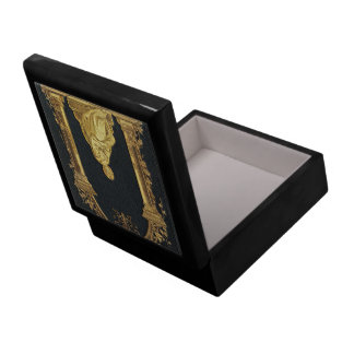 Falln Woman in Gold Book Cover Gift Box