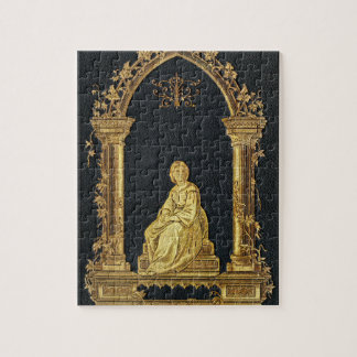 Falln Woman in Gold Book Cover Jigsaw Puzzle