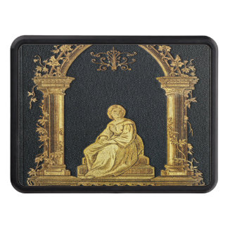 Falln Woman in Gold Book Cover Tow Hitch Cover