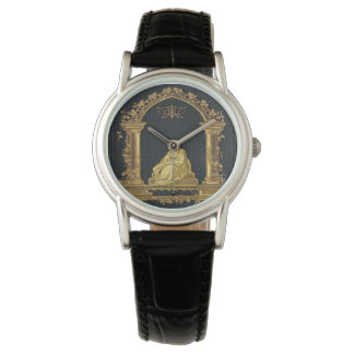 Falln Woman in Gold Book Cover Watch