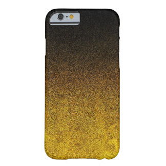 Falln Yellow & Black Glitter Gradient Barely There iPhone 6 Case
