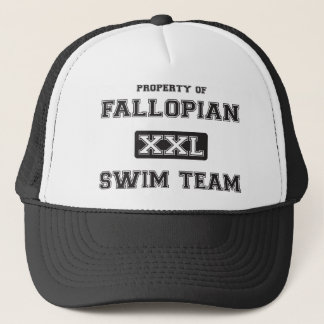 Fallopian Swim Team Trucker Hat