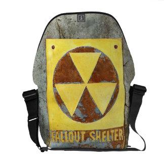 FALLOUT SHELTER #1 Medium Messenger Bag