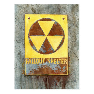 Fallout Shelter #2 Postcard
