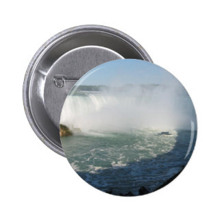 Falls View : Niagara USA Canada 2 Inch Round Button