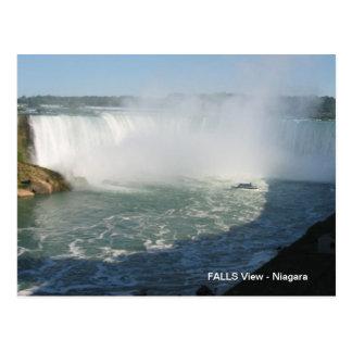 Falls View : Niagara USA Canada Post Cards