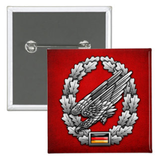 Fallschirmjägertruppe Barettabzeichen 2 Inch Square Button