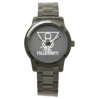 Falluminai Black Onix by Umberto Lizard Watch