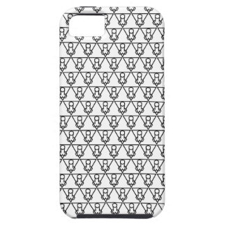 Falluminati Black Onix by Umberto Lizard iPhone 5 Case