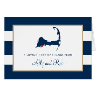 Falmouth Cape Cod Thank You Card