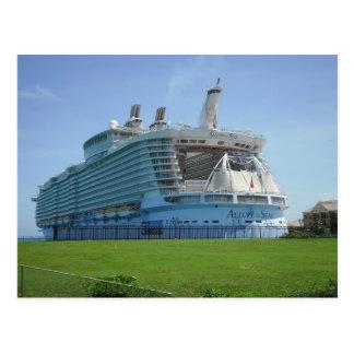 Falmouth Cruise Ship Pier Postcard