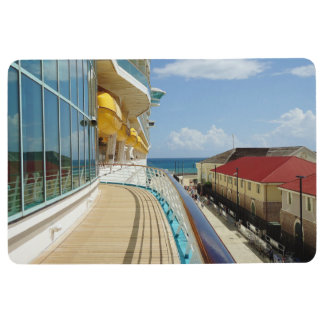 Falmouth Dockside View Floor Mat