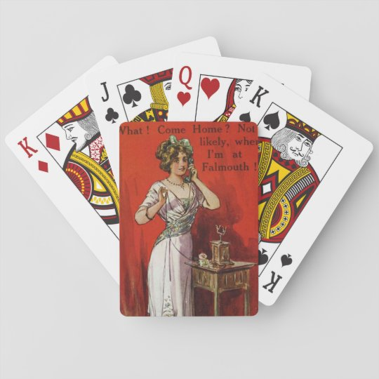 Falmouth play cards