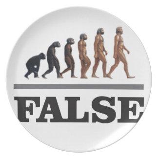 false ape art party plates