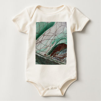False Image Baby Bodysuit