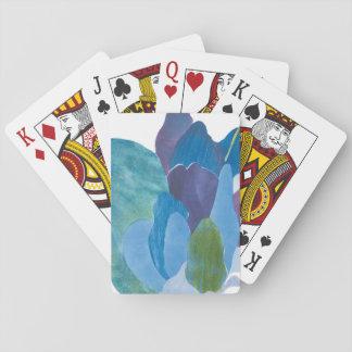 False Indigo I Playing Cards
