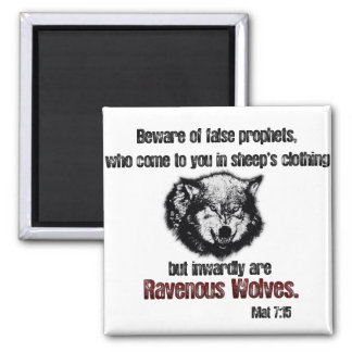 False Prophet/ Wolf Square Magnet