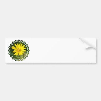 False Sunflower Bumper Sticker Car Bumper Sticker