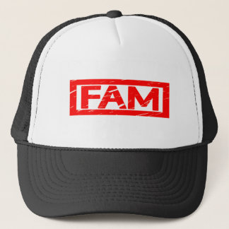 Fam Stamp Trucker Hat