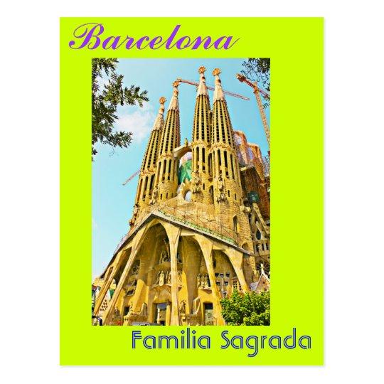 Familia Sagrada Postcard