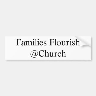"""Families Flourish"" sticker"