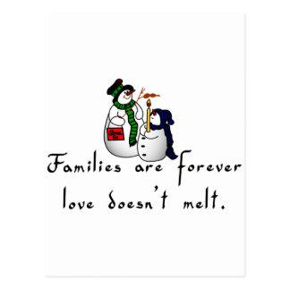Families Postcard