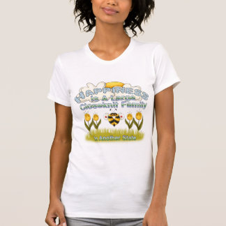 Famille heureuse t-shirts