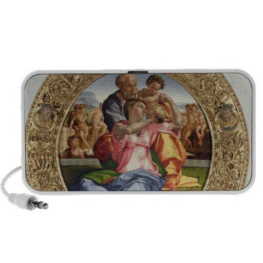 Famille sainte avec St John (Doni Tondo), 1504-05  Haut-parleur
