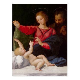 Famille sainte La Madone de Lorette Carte Postale