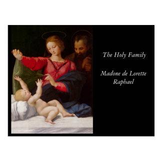 Famille sainte La Madone de Lorette Cartes Postales