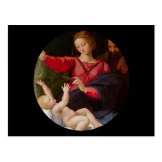 Famille sainte Madonna de Loreto Cartes Postales