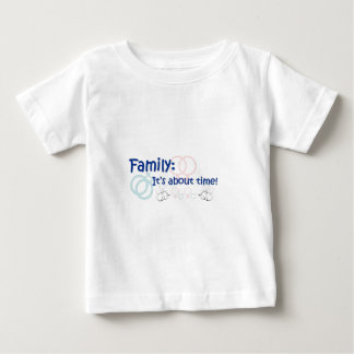 Family About Time Tshirt