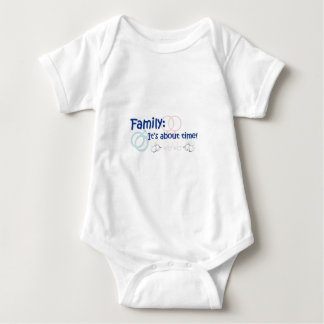 Family About Time T-shirt