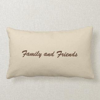 Family and Friends Lumbar Pillow