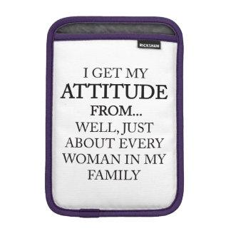 Family Attitude iPad Mini Sleeve