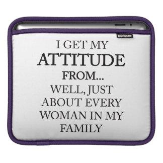 Family Attitude iPad Sleeve