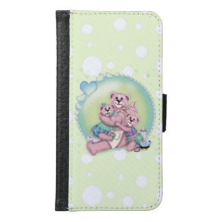 FAMILY BEAR LOVE Galaxy S6 Wallet Case
