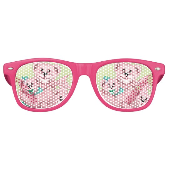 FAMILY BEAR LOVE Party Shades Sunglasses