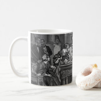 Family Billiards 1891 Coffee Mug
