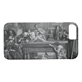 Family Billiards 1891 iPhone 8/7 Case