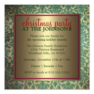 Family Christmas Party Invitation