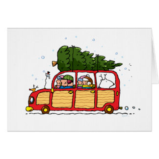 Family Christmas Tree Picked Card! Card